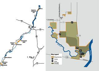 Emiquon NWR Map