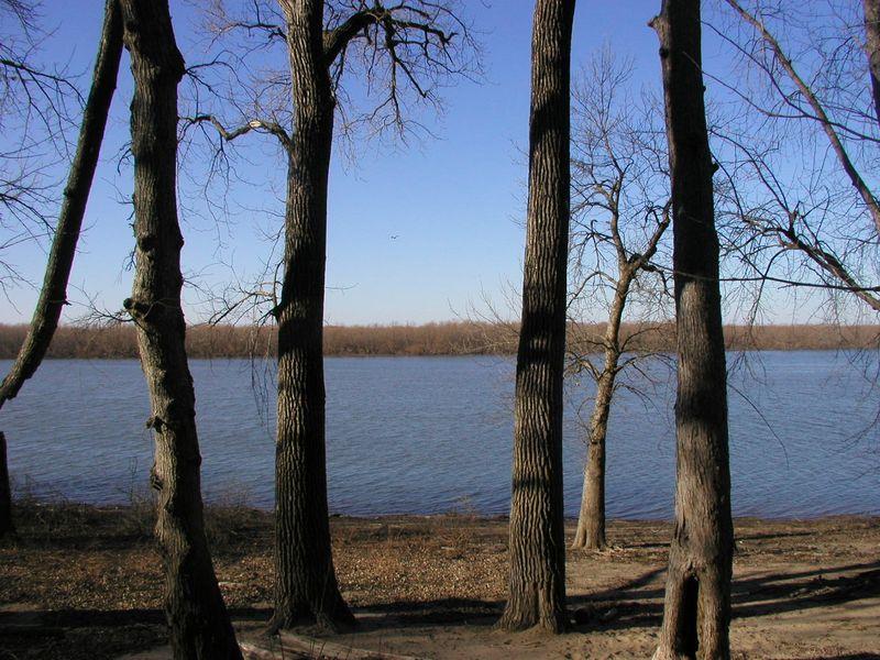 Quiver Lake at cabin 9-Jan-2012
