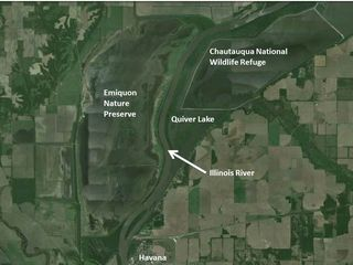 Quiver-Chautauqua-Emiquon aerial with labels