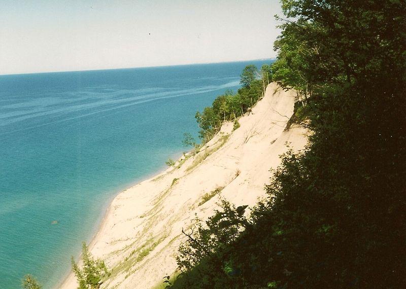 North Manito Island and Lake Michigan 1993