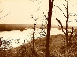 Mississippi River at Palisaides State Park-1978