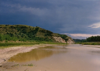 T. Roosevelt National Park-Little Missouri River-1988
