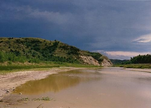 T. Roosevelt National Park-Little Missouri River-1988