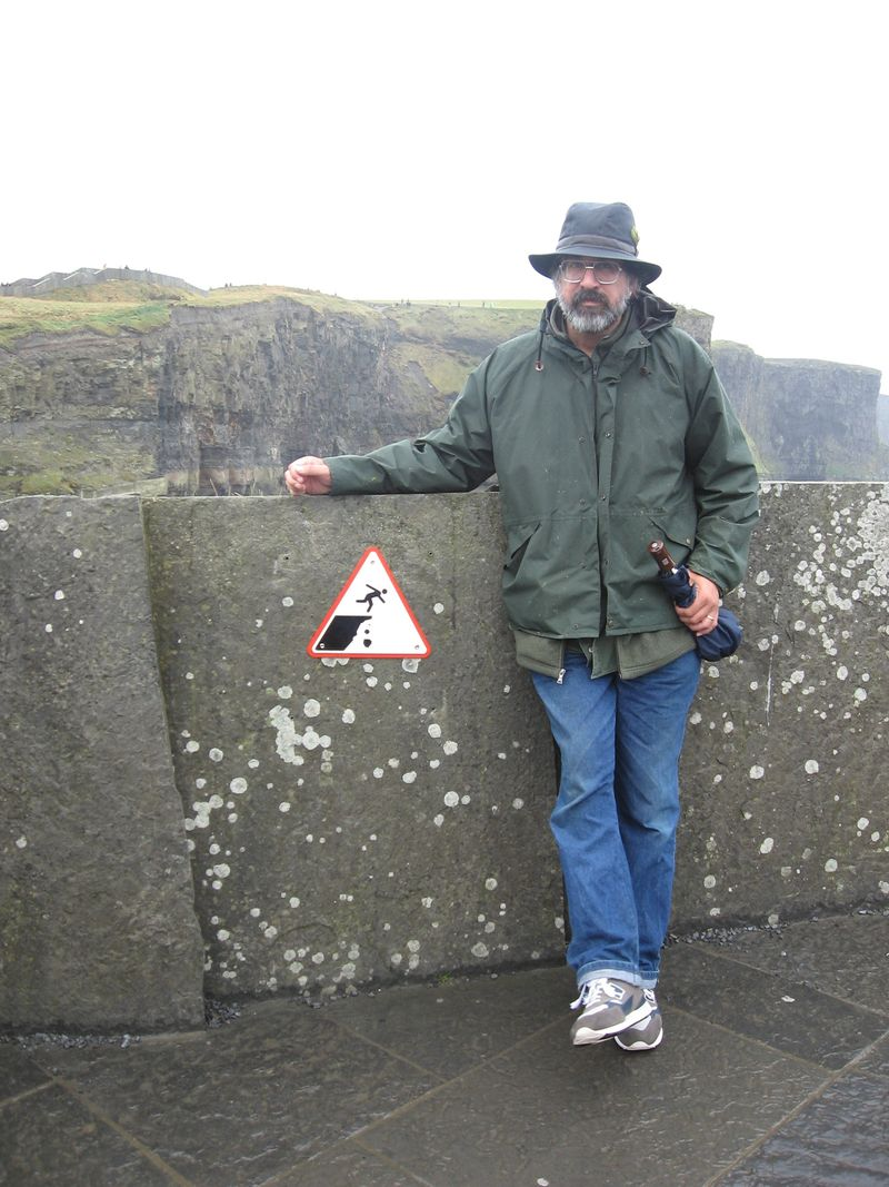 Tom at Cliffs of Moher