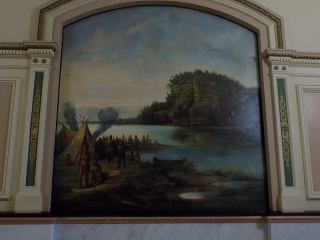 Starved Rock painting capital building