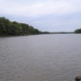 Long Island side channel, Mississippi River near Quincy, Illinois