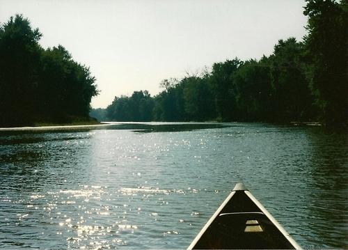 Canoeing Bath Chute