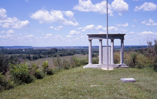 Chandlerville Cemetery River Valley Overlook