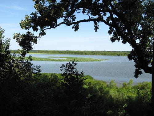 Overlook at Chautauqua NWR, Eagle Bluff Access