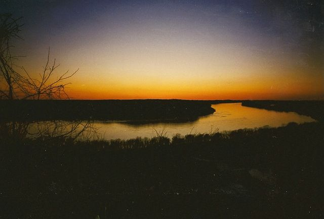 Middle Mississippi River at Fountain Bluff