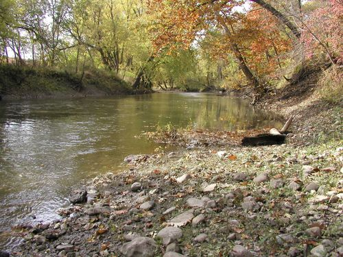 The Early Autumn Mackinaw River